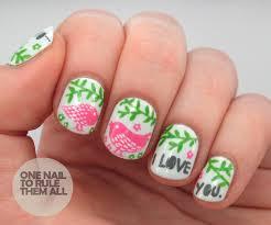 i love you nail art image collections nail art designs