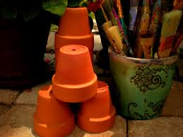 small flower pot small flower pots unpainted pots classroom projects