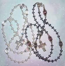 wedding rosary 0f inspiraton rosaries and chaplets by via rosa