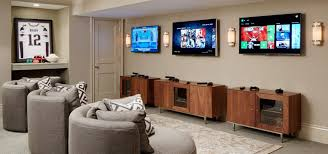 Media Game Room - the most amazing video game room ideas to enhance your basement
