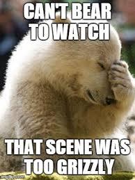 Bear Meme - facepalm bear meme imgflip