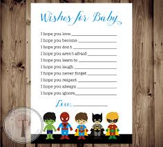 instant download wishes for baby dear baby superhero baby