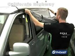 California Awning How To Pitch The Outwell California Highway Awning Mp4 Youtube