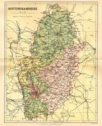 Map Of England And Wales by Nottinghamshire Genealogy Heraldry And Family History