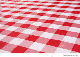 plaid tablecloth picture