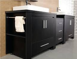 bathroom storage double sink bathroom vanities double sink