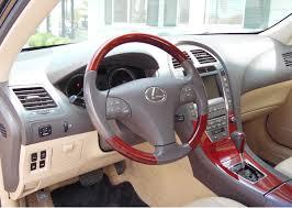 lexus es interior 2008 lexus es350 4 door sedan