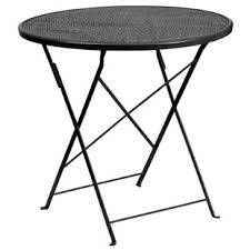 Black Bistro Table Black Iron Outdoor Bistro Tables You Ll Wayfair