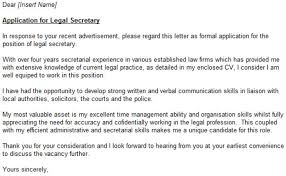 litigation legal assistant cover letter