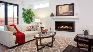 livingroom linear gas fireplace fireplace glass luxury