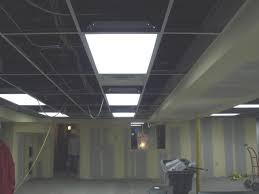 Prepossessing Drop Ceiling Tiles Basement Light Panel Drop Ceiling