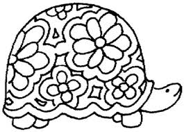 Turtle Coloring Pages Funycoloring Color Page