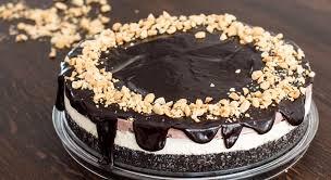 chocolate peanut butter ice cream cake recipe youtube