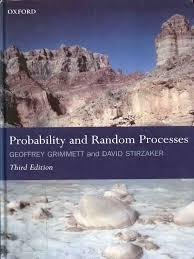 grimmett g r stirzaker d r probability and random processes