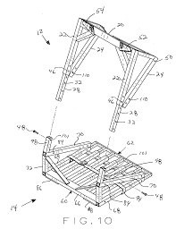 patent us20120061180 compact climbing tree stand with