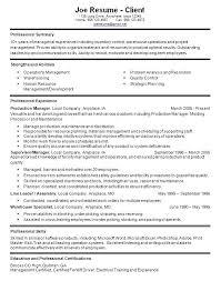 Sample Resume Warehouse Supervisor by Warehouse Manager Job Description Warehouse Resume Format