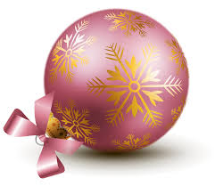 transparent pink christmas ball ornaments clipart gallery