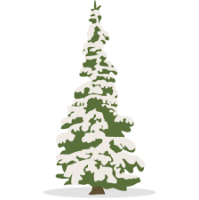 snowy tree svg scrapbook cut file clipart files for