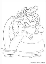 Top 81 Princess The Frog New Coloring Pages Free Coloring Page Princess And The Frog Colouring Pages