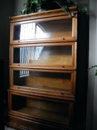 Antique Oak Bookcase With Glass Doors Antique Bookcase With Glass Doors Hercegnovi2021 Me