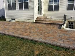 Patio Pavers For Sale by New Patio In Wilson U0027s Grove Life Time Pavers