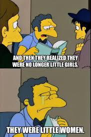 Moe Meme - the simpsons meme little women moe on bingememe