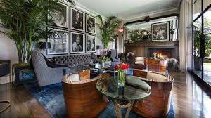 old hollywood glamour living room living room transitional with