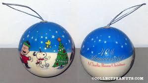 Anniversary Christmas Ornament Peanuts General Christmas Ornaments Collectpeanuts Com