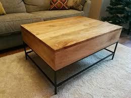 west elm industrial storage coffee table west elm industrial storage coffee table in luton bedfordshire