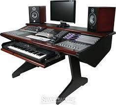 Studio Work Desk Malone Design Works Mc Desk Composer Mahogany Sweetwater