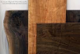 custom solid hardwood table tops live edge slabs made for