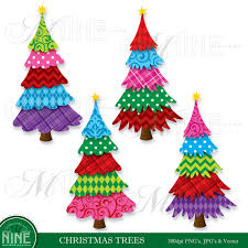 girly christmas tree clipart clipartxtras