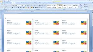 creating envelopes and labels with word 2007