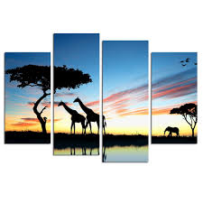 online get cheap giraffe wall art aliexpress com alibaba group