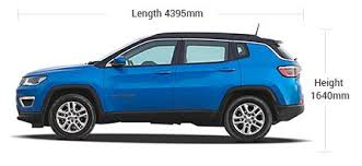 jeep specs jeep compass specifications features diesel 8 15kmpl mileage