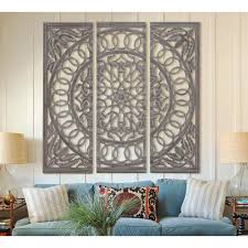 scrolled 48 in x 48 in wood and mirrored wall panel 23705 the wood and mirrored wall panel