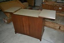 Flip Top Bar Cabinet Mid Century Modern Bar Cabinets Antiques Ebay