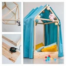 comment faire une cabane dans sa chambre diy fabriquer une cabane de lit diy tuto tutoriel bricolage