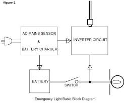maintained emergency lighting circuit diagram circuit and