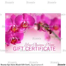 beauty gift vouchers templates contegri com
