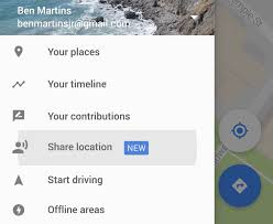 Google Timeline Maps Google Maps Gains Real Time Location And Trip Sharing Features