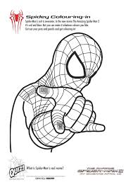 Spider Worksheets Spiderman Printable Coloring Pages Simple Free Spiderman