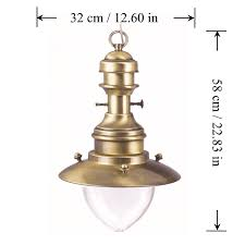 Nautical Ceiling Light Fixture by Beach Style Nautical Pendant Lights