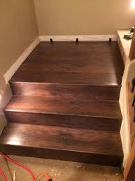Laminate Flooring For Stairs Zamma Saratoga Hickory 3 4 In Thick X 2 1 8 In Wide X 94 In