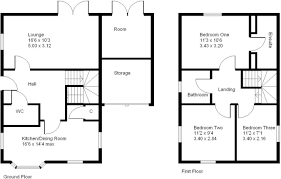 Althorp House Floor Plan 3 Bedroom Detached House For Sale In Althorp Close Middlemore