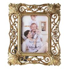 amazon com gift garden 5x7 gold picture frame vintage hollow up