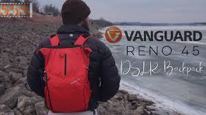 Most Comfortable Camera Backpack Review Vanguard Reno 45 Dslr Camera Backpack Compact Youtube