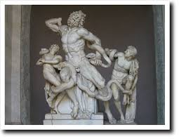 Famous Greek Statues Laocoön And His Two Sons