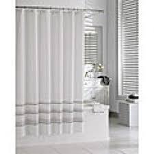 white hotel shower curtain foter