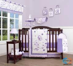 Lavender Butterfly Crib Bedding Lavender Butterfly Baby Crib Bedding Set 14pcs Including Mobile Ebay
